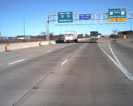 image of existing I-39 roadway