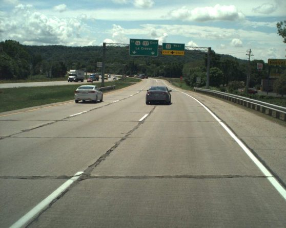 image of existing WIS 157 roadway