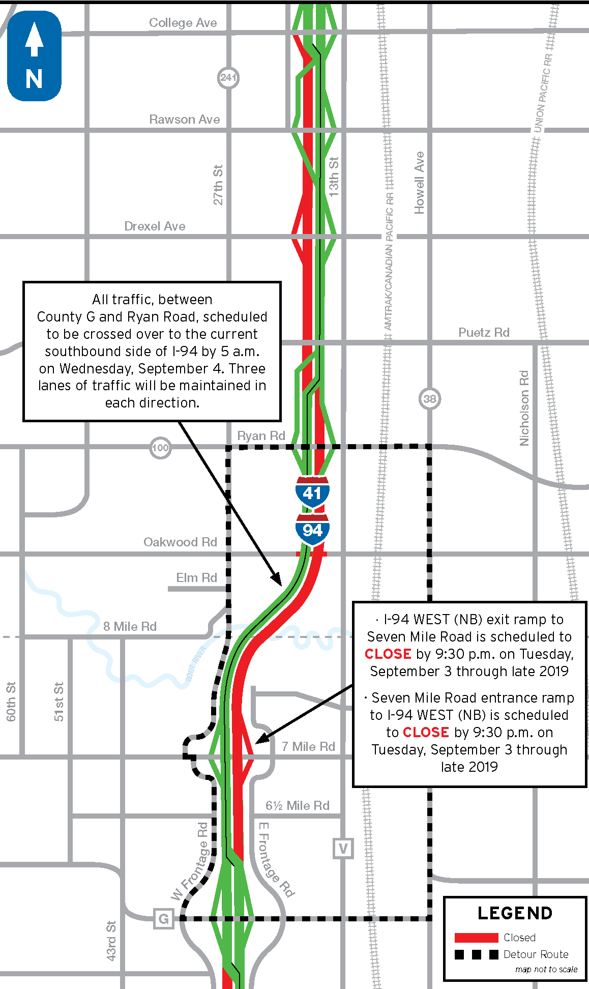 News – I-94 North-South Freeway Project