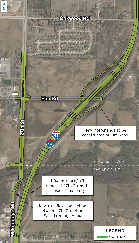27th Street Interchange – I-94 North-South Freeway Project