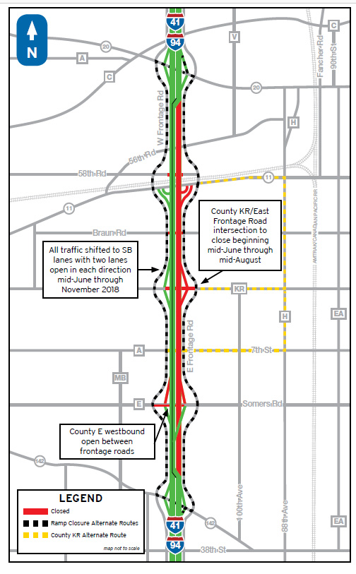 Work set to begin on I-94 – I-94 North-South Freeway Project