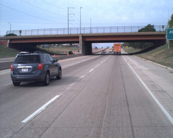 image of existing bridge over US 12/18