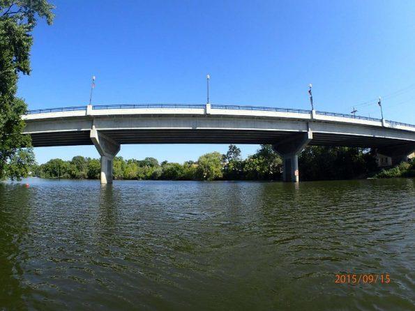 Image of US 18 bridge over Rock River