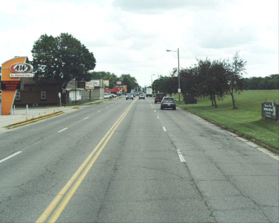 image of exisiting US 51 roadway