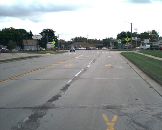 image of existing US 51 roadway