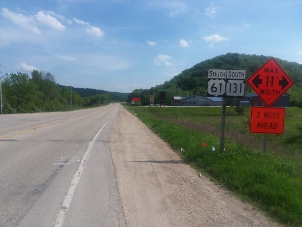 Image of US highway 61