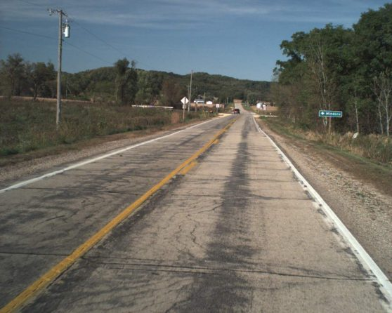 image of existing WIS 108 roadway
