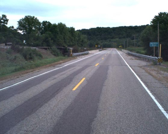 image of existing WIS 136 roadway