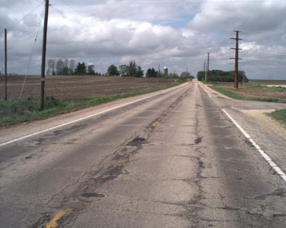 Image of existing WIS 140 roadway
