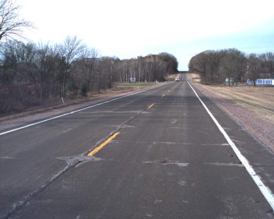 image of existing WIS 16 roadway