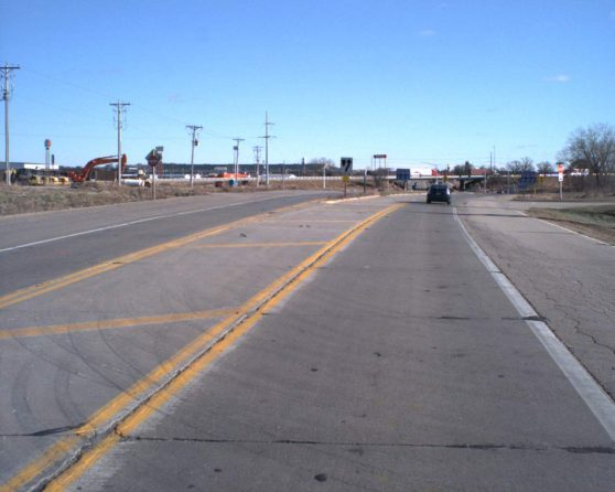 image of existing WIS 19 roadway