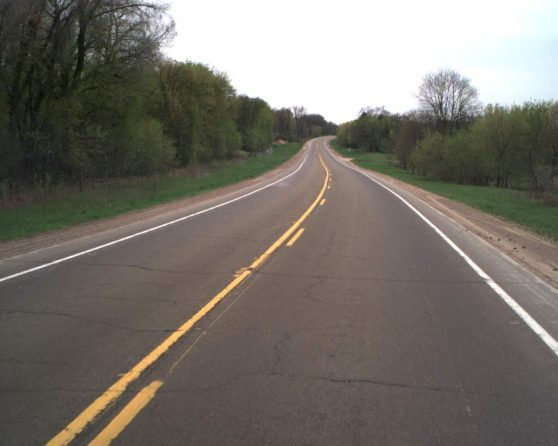image of existing WIS 22 Roadway