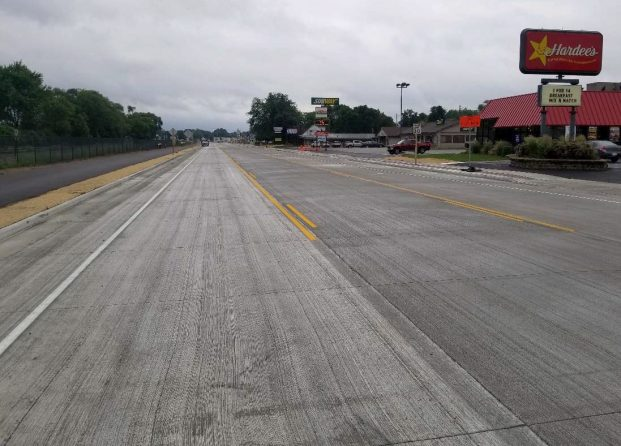 Image of WIS 35 after construction