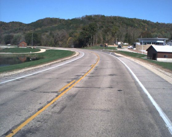 Image of existing WIS 35 roadway