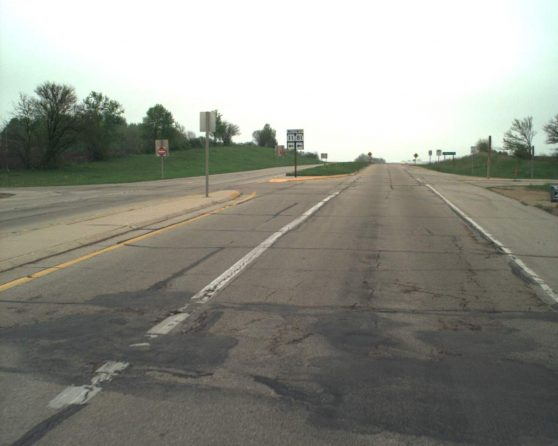 Image of existing WIS 59 roadway