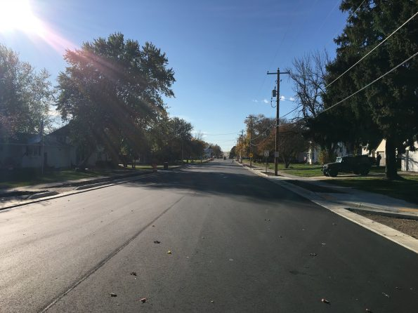 image of newly constructed WIS 60 roadway