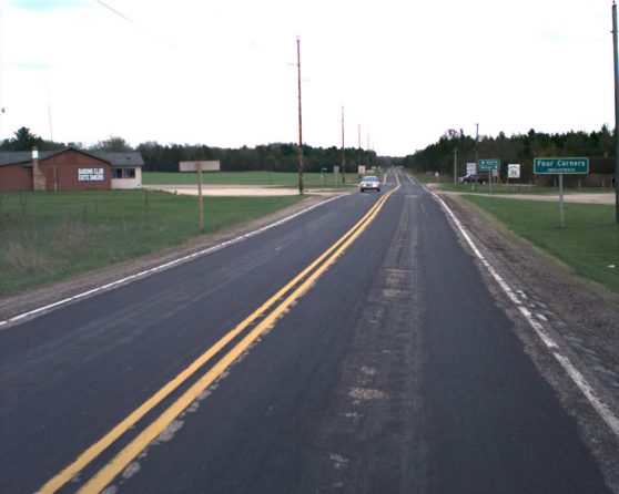 Image of existing WIS 71 roadway