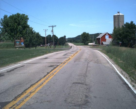 image of existing WIS 78 roadway
