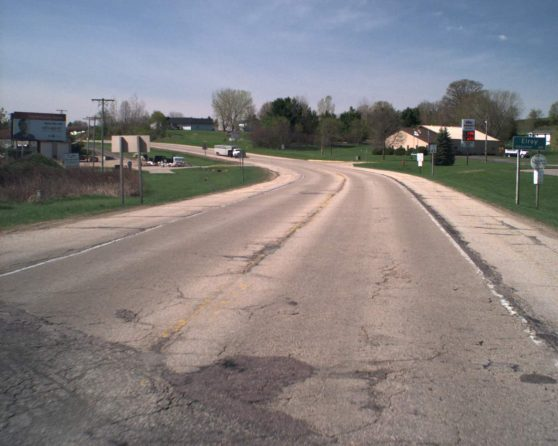 Image of existing WIS 80 roadway