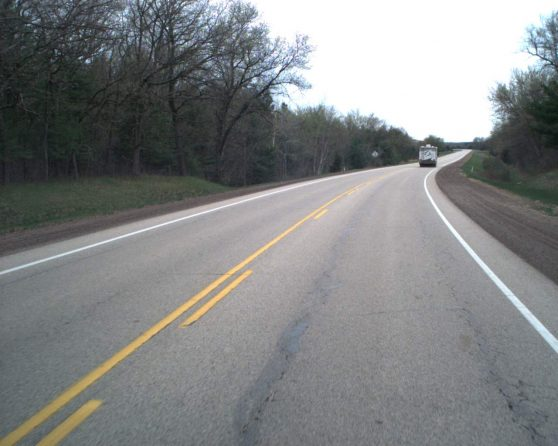 Image of existing WIS 82 roadway